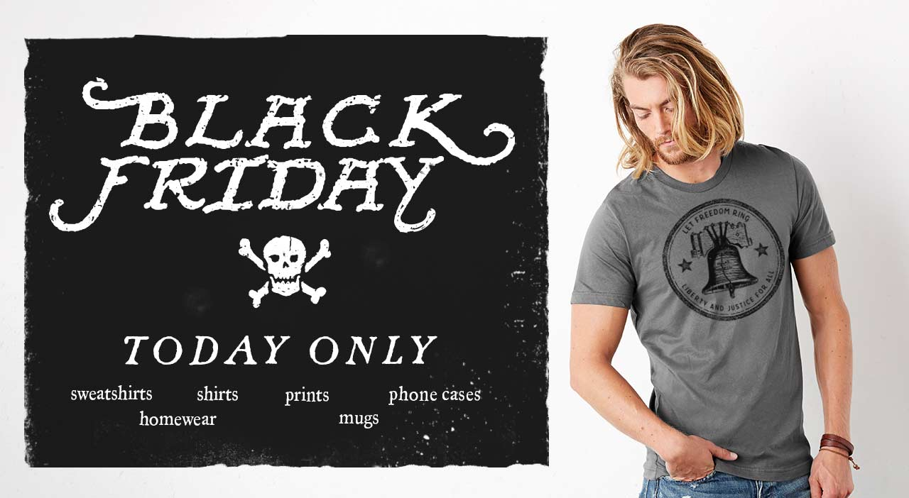 Liberty Maniacs Black Friday Sale