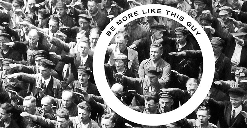 August Landmesser. Hero of History