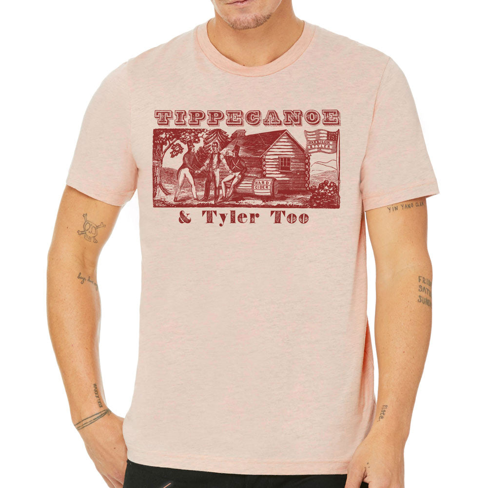 d676c1c1ea3 Tippecanoe and Tyler Too 1840 Campaign Shirt - Liberty Maniacs