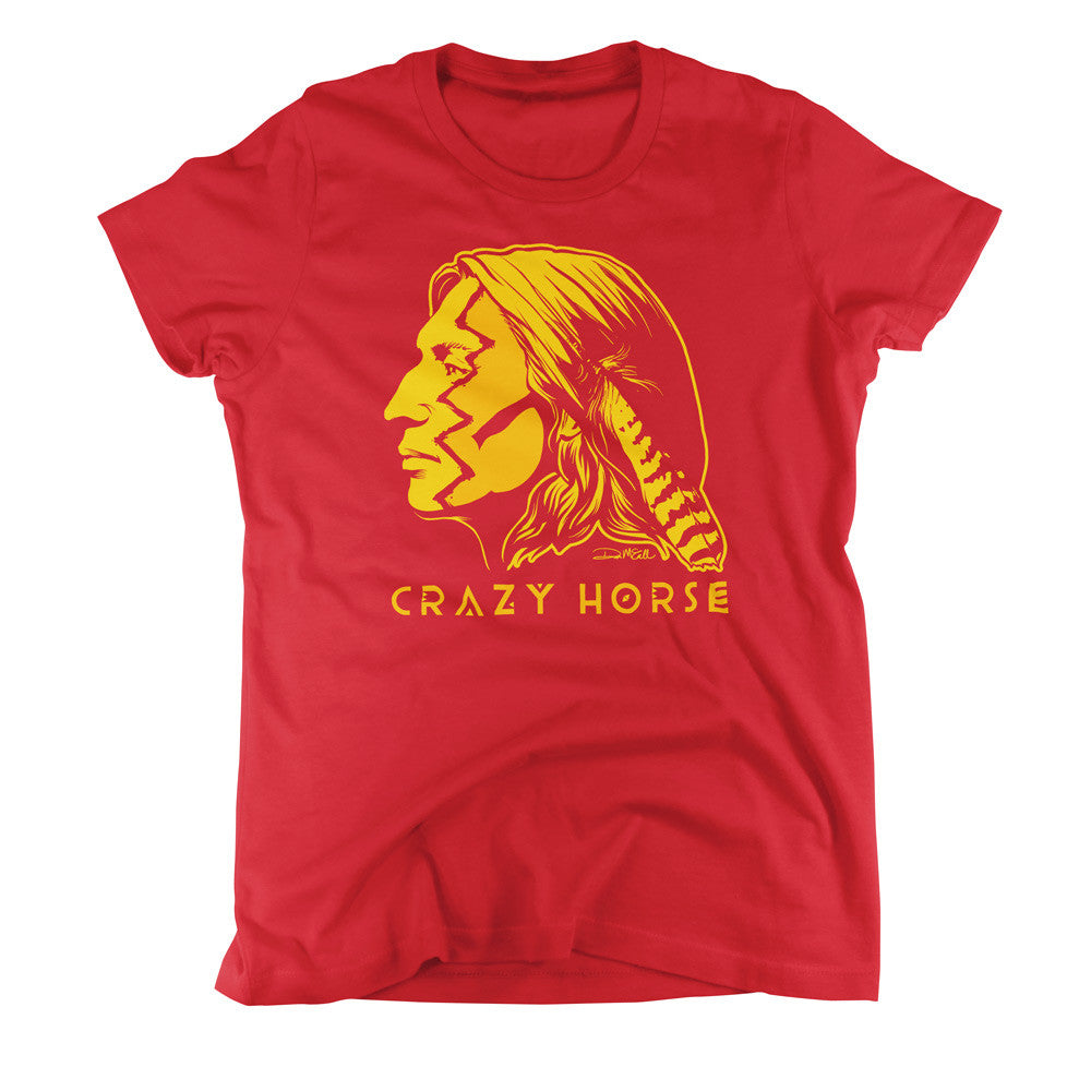 be686b62f Crazy Horse Ladies Graphic Tees - Liberty Maniacs
