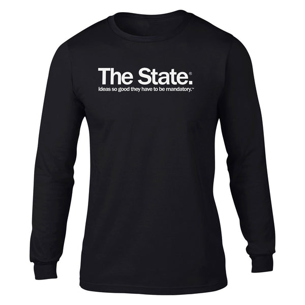 fd78ea34 Mandatory Ideas Long Sleeve Statism T-shirt - Liberty Maniacs
