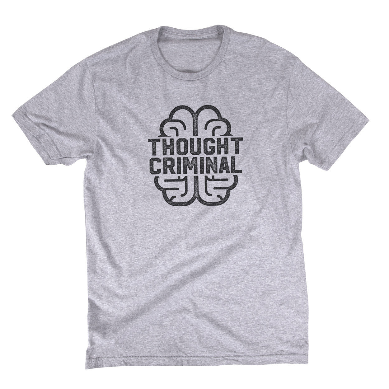 94c39b71c ... Thought Criminal By Liberty Maniacs in Athletic Grey