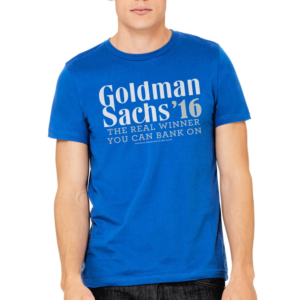 goldman sachs 2016 election shirt