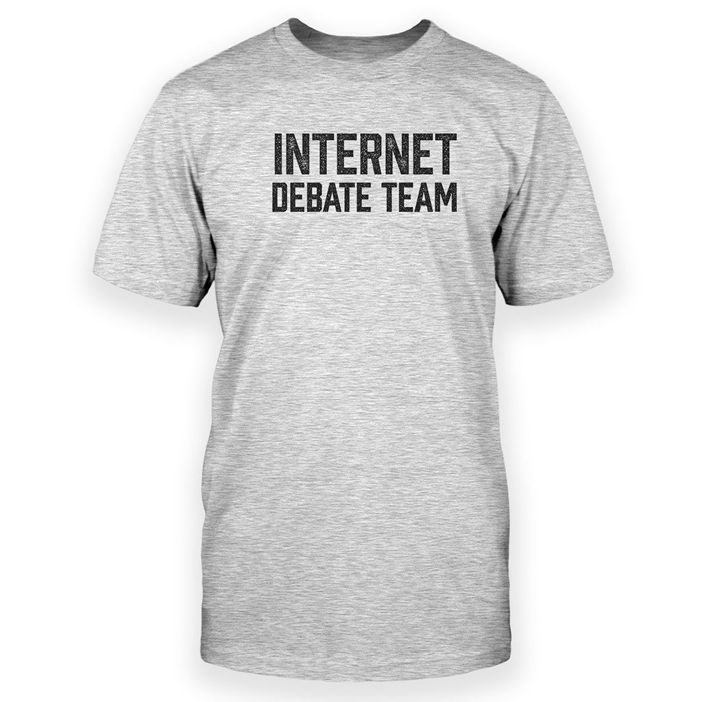 internet debate The internet is full of debates about important subjects like abortion, censorship and religion, and even more important subjects like what is wrong with music these days and who is the most victimized group on earth, child soldiers or gamers all too often, these debates fail to stay on topic and.