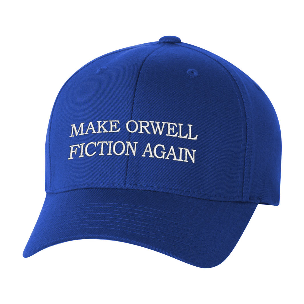 Make Orwell Fiction Again Trucker Cap - Liberty Maniacs 5bf3655541b