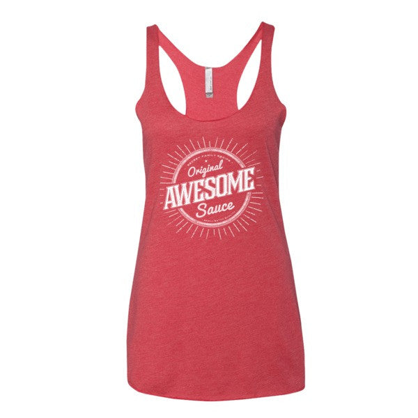cd6a0445a00acd Awesome Sauce Ladies Racerback Women s tank top - Liberty Maniacs