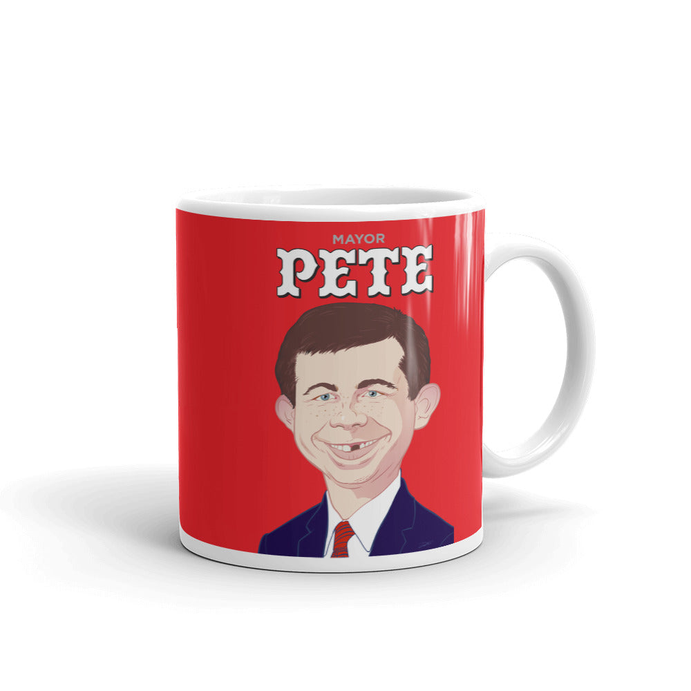 Image result for goof images of pete buttigieg