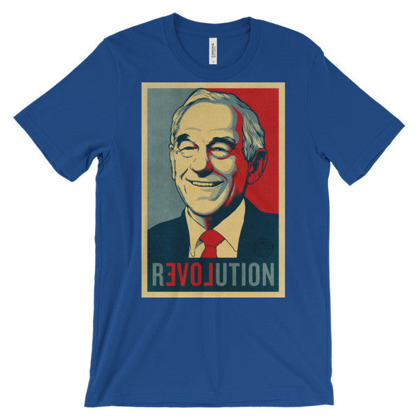 Ron Paul Revolution Graphic T Shirt Liberty Maniacs
