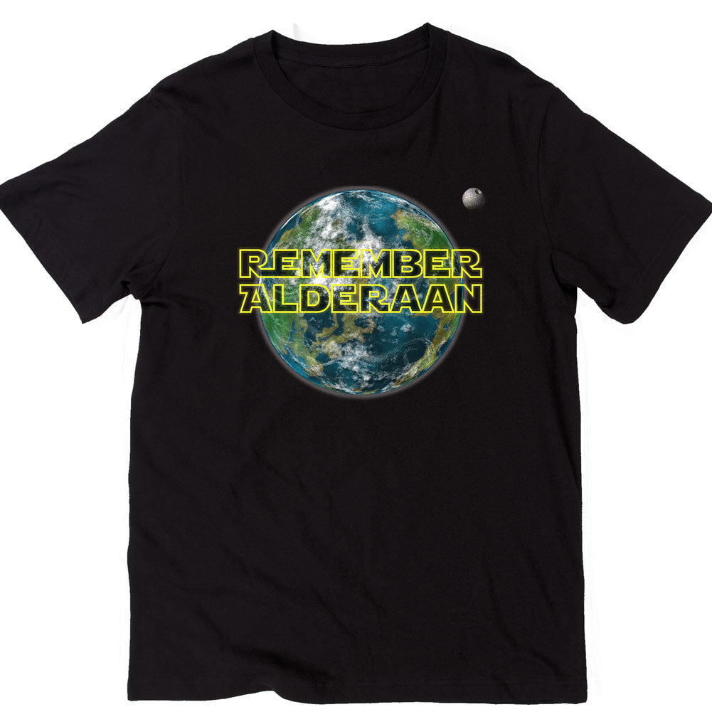8649d075 Remember Alderaan Unisex T-shirt - Liberty Maniacs