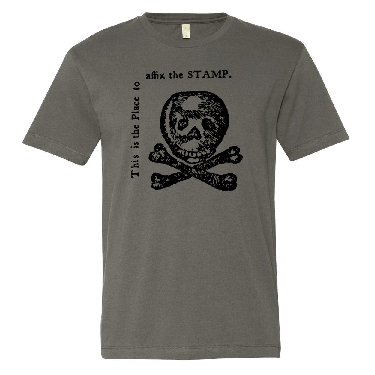 Stamp Act Satire Vintage Graphic T Shirt Liberty Maniacs