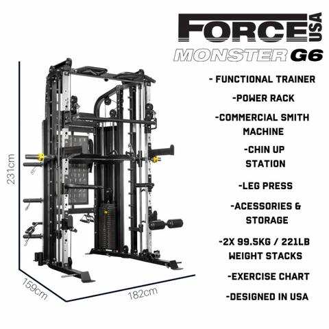 Force USA Monster G6 - 2019 Model