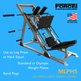 Force USA Monster Ultimate Leg Press Hack Squat Combo