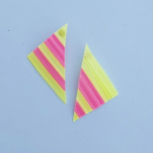 Pink and yellow stripes
