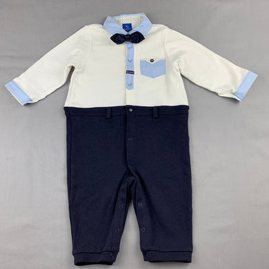 Boys Absorba, soft feel formal / party romper / outfit, EUC, size 0