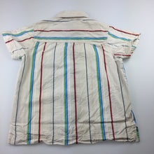 Load image into Gallery viewer, Boys Brooklyn Industries, striped cotton short sleeve shirt, FUC, size 10