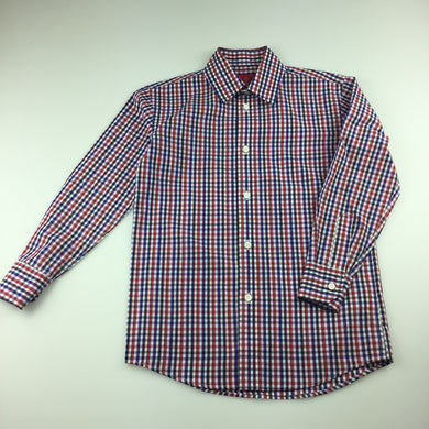 Boys Fred Bracks, lightweight check formal / dress shirt, EUC, size 7