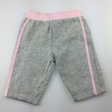 Load image into Gallery viewer, Girls Tiny Little Wonders, grey fleece lined track pants, EUC, size 00
