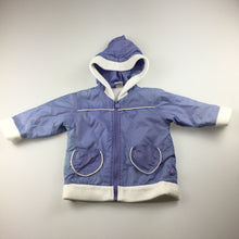Load image into Gallery viewer, Girls Spud Kids, fleece lined hooded jacket, zip up, GUC, size 1