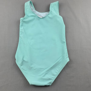 Girls Kids & Co, aqua swim one-piece, apple, EUC, size 2