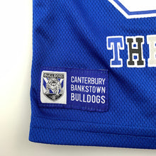 Load image into Gallery viewer, Unisex NRL Official, Canterbury Bulldogs Brutus t-shirt / top, EUC, size 1