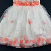 Load image into Gallery viewer, Girls Cai Le Ni, stunning formal / party / flower girl dress, L:60cm, Chest: 58cm, W: 54cm, GUC, size 4-5
