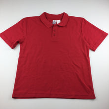 Load image into Gallery viewer, Unisex Target, red school polo shirt, EUC, size 8