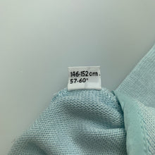 Load image into Gallery viewer, Girls Dolce & Gabbana, light blue soft feel knit bolero cardigan, EUC, size 11-12