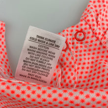 Load image into Gallery viewer, Girls Target, orange & white cotton t-shirt / top, GUC, size 000