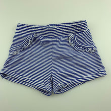Load image into Gallery viewer, Girls Target, soft stretchy striped shorts, elastsicated, EUC, size 000