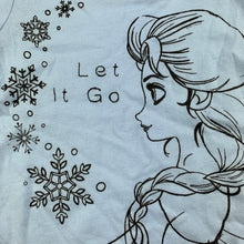 Load image into Gallery viewer, Girls Disney, Frozen Elsa cotton t-shirt / top, GUC, size 0000