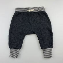 Load image into Gallery viewer, Unisex Cotton On Baby, grey fleece lined leggings / bottoms, GUC, size 00