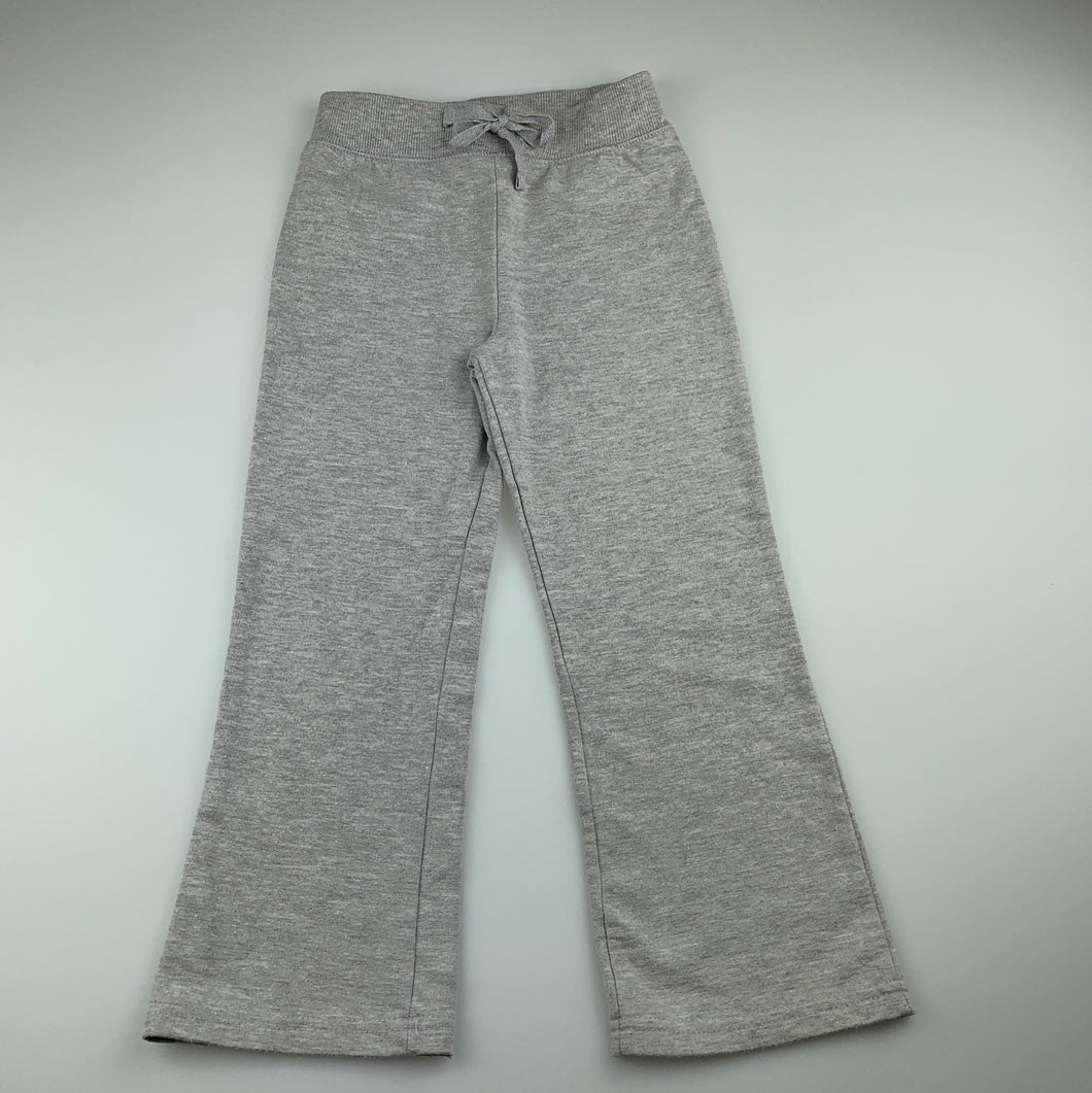 Girls H+T, grey lightweight track / sweat pants, GUC, size 4
