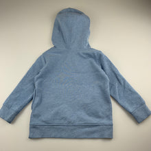 Load image into Gallery viewer, Boys Target, blue hoodie sweater, mark on chest, FUC, size 3