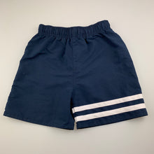 Load image into Gallery viewer, Boys Urban Supply, navy lightweight shorts / board shorts, FUC, size 7