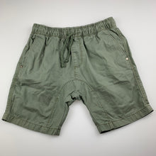 Load image into Gallery viewer, Boys Target, khaki cotton shorts, elasticated, FUC, size 10