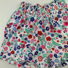 Load image into Gallery viewer, Girls Emerson, floral lightweight crinkle shorts, elasticated, GUC, size 2