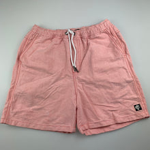 Load image into Gallery viewer, Boys Indie by Industrie, pink cotton shorts, elasticated, GUC, size 12