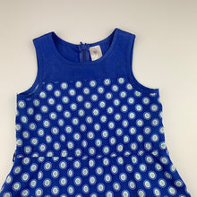 Load image into Gallery viewer, Girls Target, blue lightweight party dress, GUC, size 3