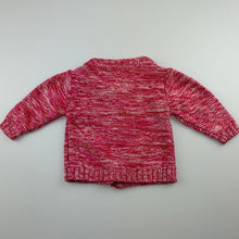 Load image into Gallery viewer, Girls Tiny Little Wonders, bright knit cardigan, GUC, size 000