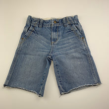 Load image into Gallery viewer, Boys JK Kidsgear, blue denim shorts, adjustable, GUC, size 4