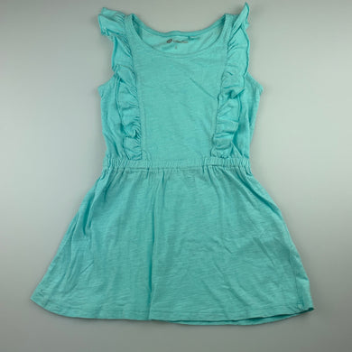 Girls B Collection, blue cotton casual summer dress, GUC, size 3