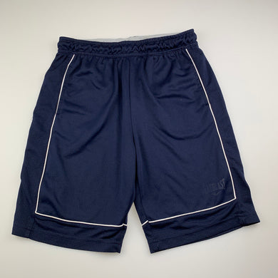 Boys Everlast, navy basketball shorts, elasticated, FUC, size 13