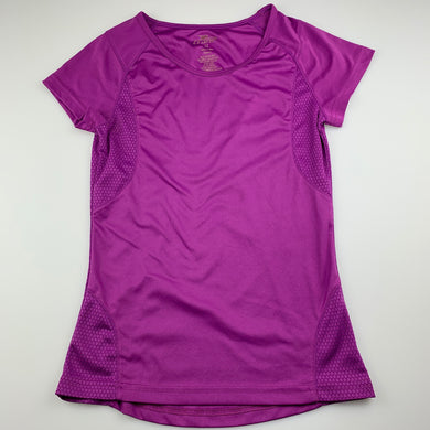 Girls Crane, purple sports / activewear top, GUC, size 12