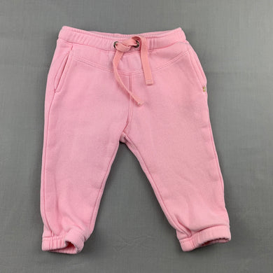 Girls Fred Bare, pink track / sweat pants, FUC, size 1