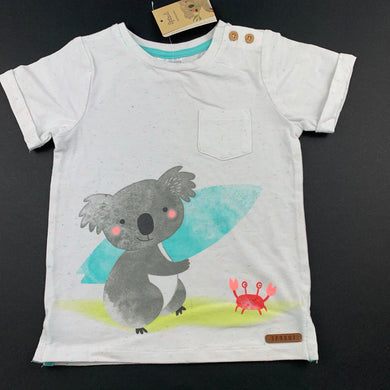Unisex Sprout, cute t-shirt / top, koala, NEW, size 1