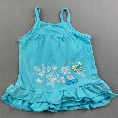 Girls Baby Baby, blue casual summer dress, GUC, size 000