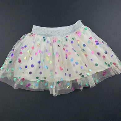 Girls Seed, cotton lined tulle tutu party skirt, GUC, size 0