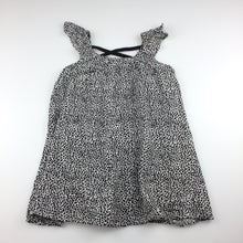 Load image into Gallery viewer, Target flowing black & white summer party dress, size 2, Pre-loved