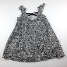 Load image into Gallery viewer, Girls Target, flowing black & white summer party dress, GUC, size 2