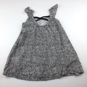 Girls Target, flowing black & white summer party dress, GUC, size 2